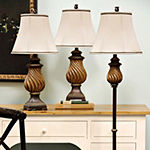 Stylecraft Toffee 3 piece. Lamp Set