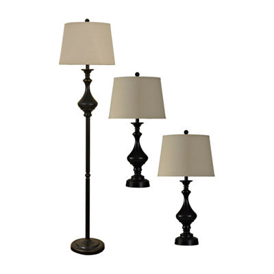 Stylecraft Madison 3-pc. Lamp Set