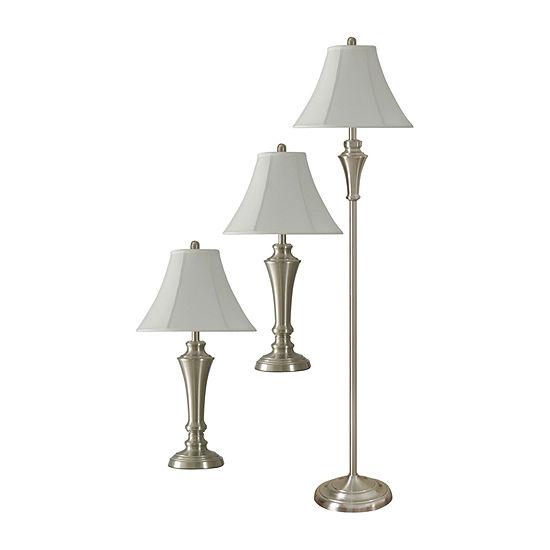 Stylecraft Geneva 3-pc. Lamp Set
