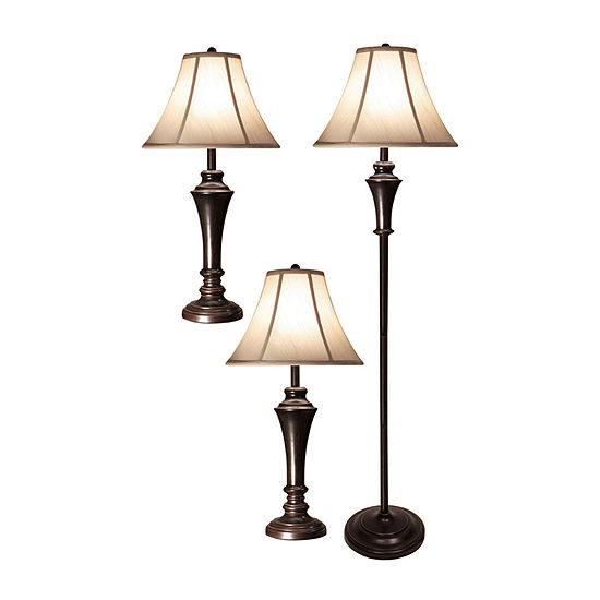 Stylecraft Geneva 3-pc. Lamp Set
