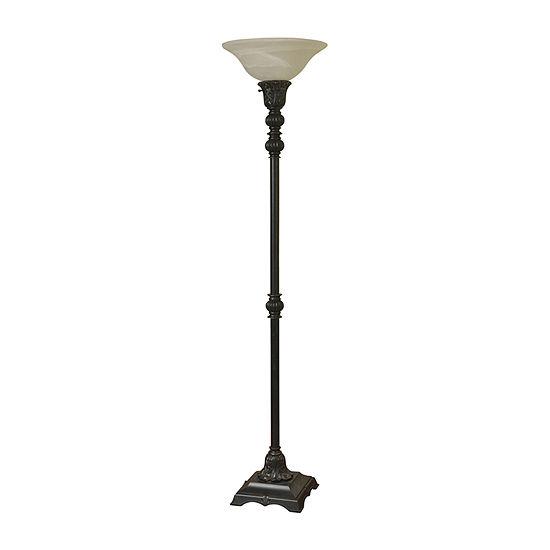 Stylecraft Madison Plastic Floor Lamp