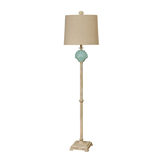 Stylecraft Gili Beach Ceramic Floor Lamp