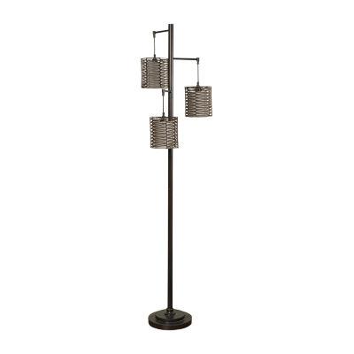 Stylecraft Contemporary Metal Floor Lamp