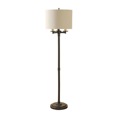 Stylecraft Madison Metal Floor Lamp