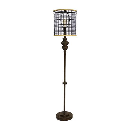 Stylecraft Black Floor Lamp