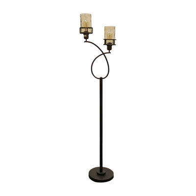 Stylecraft Bronze Metal Floor Lamp