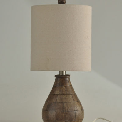 Stylecraft Brown Plastic Table Lamp