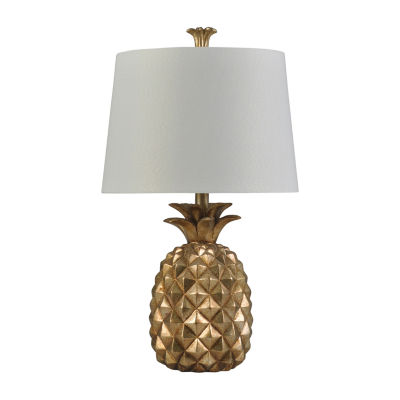 Stylecraft Gold Plastic Table Lamp