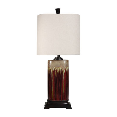 Stylecraft Tandoori Spice Ceramic Table Lamp