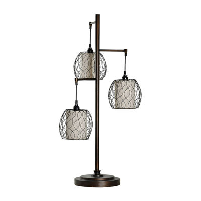 Stylecraft Contemporary Metal Table Lamp