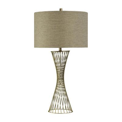 Stylecraft Cupertino Iron Table Lamp