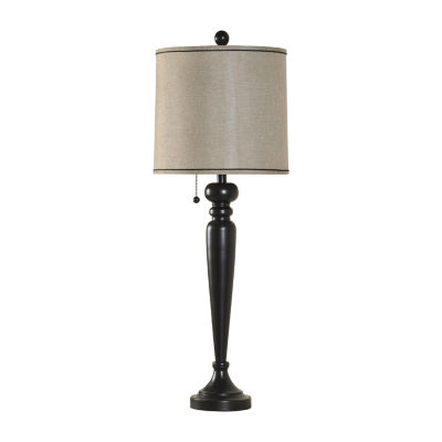 Stylecraft Wood Metal Table Lamp