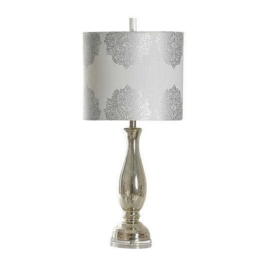 Stylecraft Northbay Glass Table Lamp