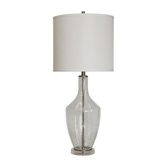 Stylecraft Seeded Acrylic Table Lamp