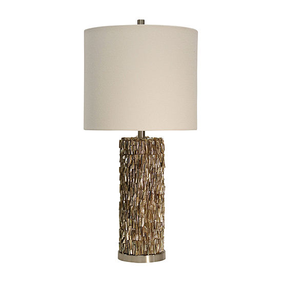Stylecraft Mystic Shell Metal Table Lamp