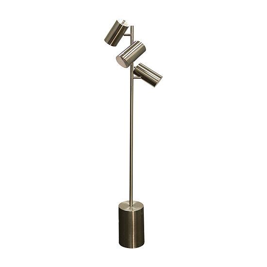 Stylecraft Brass Metal Floor Lamp