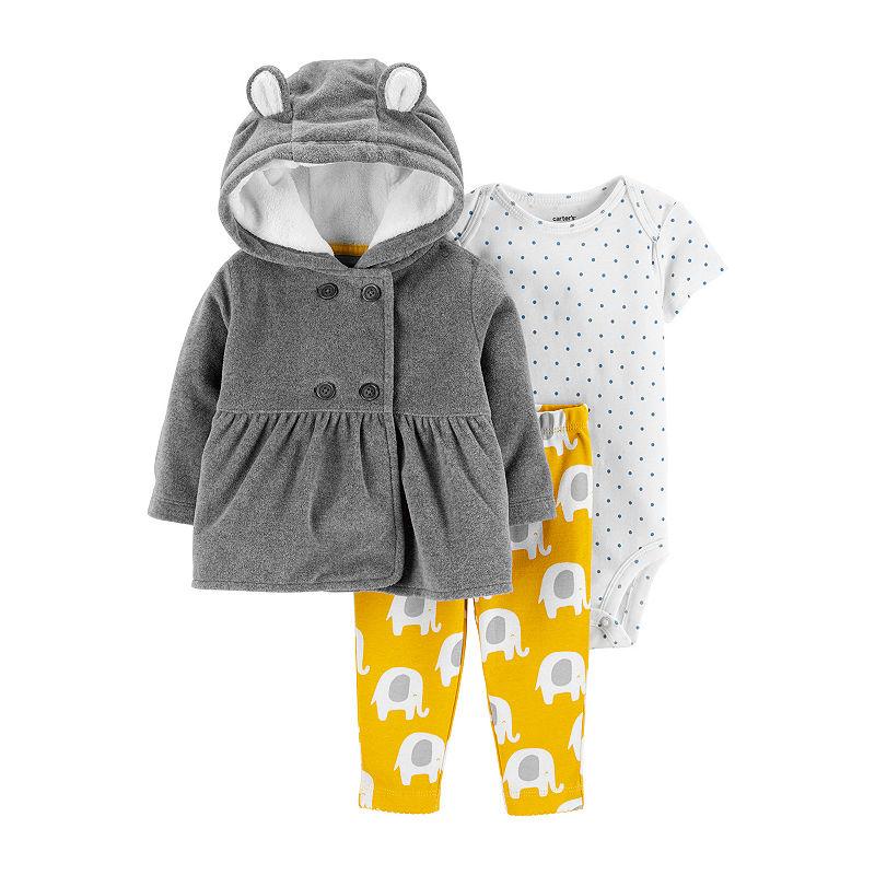 Carters 3-pc. Little Jacket Set – Baby Girls