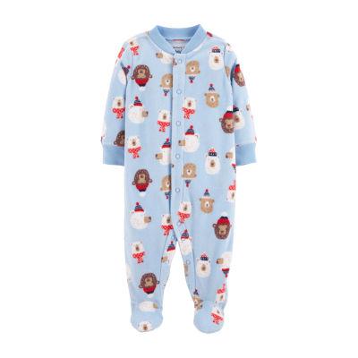 Carter's Fleec Sleep and Play - Baby Boy