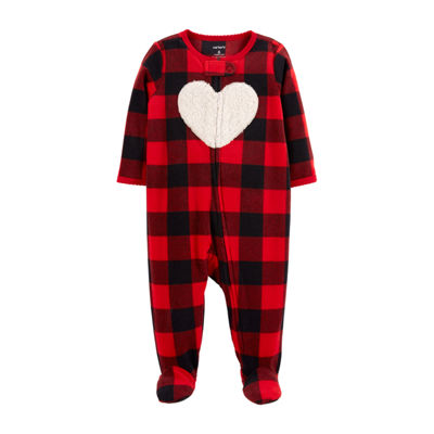 Carter's Fleece Sleep and Play - Baby Girl