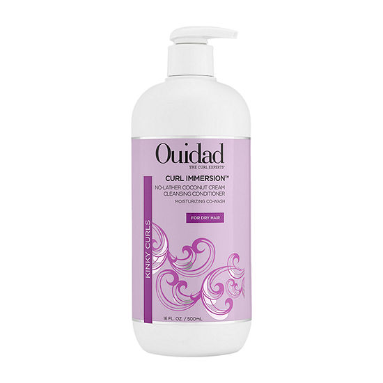 Ouidad Curl Immersion No-Lather Coconut Cream Cleansing Conditioner - 16oz
