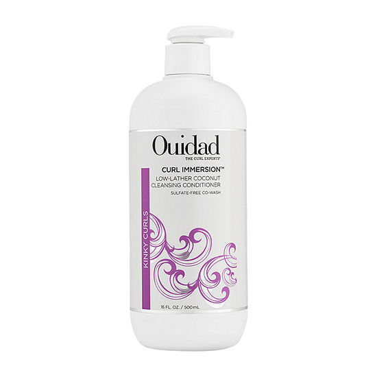 Ouidad Curl Immersion Low-Lather Coconut Cleansing Conditioner - 16 oz.