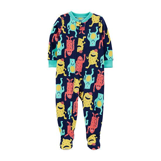 Carter's Baby Boys Fleece Long Sleeve One Piece Pajama