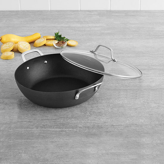 """Calphalon® Classic Hard-Anodized Nonstick 12"""" All-Purpose Pan with Lid"""