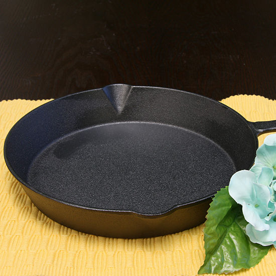 Gibson Home General Store Addlestone 10 inch Round Cast Iron Frying Pan