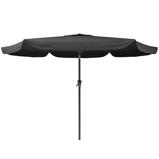Round Patio Tilt Umbrella