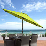 Wind Resistant Titlting Patio Umbrella