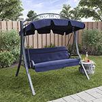 Arched Canopy Patio Swing