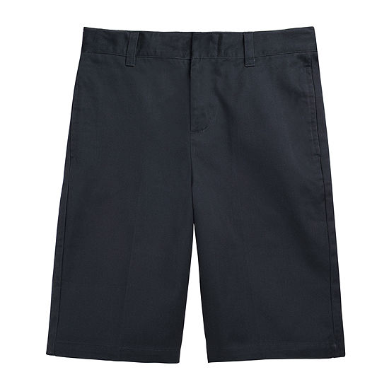 French Toast® Flat-Front Cotton Shorts - Boys 8-20 and Husky