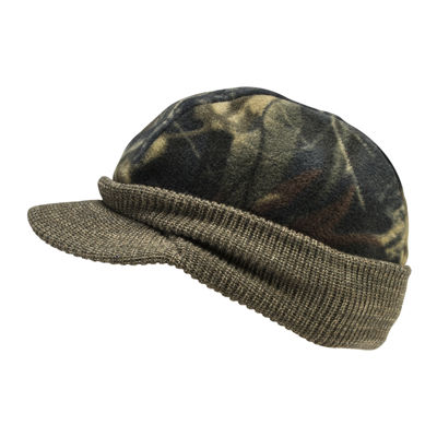 QuietWear® Reversible Knit Visor Beanie