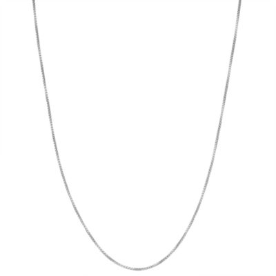 Children's Sterling Silver 15 Inch Box Chain Necklace