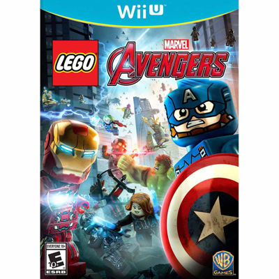 Wii U Lego Marvel Avengers Video Game