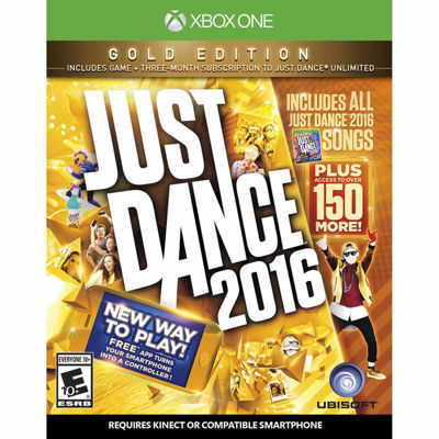 XBox One Just Dance 2016: Gold Edition Video Game