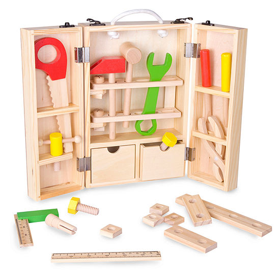 Classic Toy Wooden Carpenter Tool Set