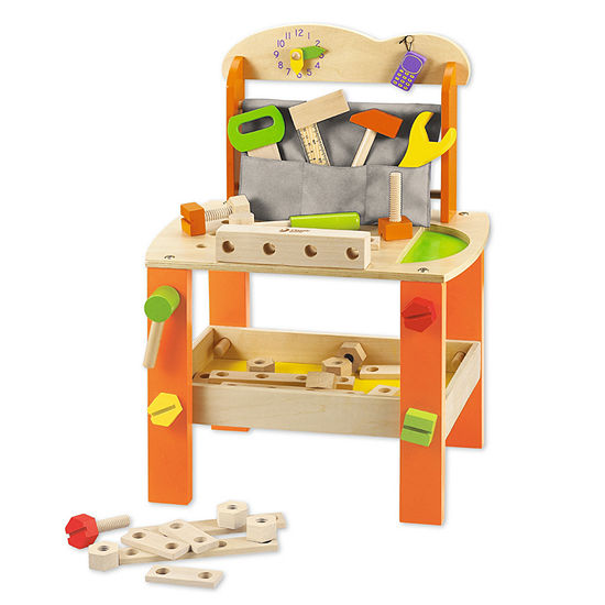 Classic World Wooden Toy Tool Bench