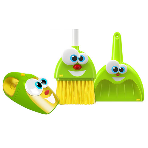 Kidz Delight Silly Sam & Laughing Larry Housekeeping Toys