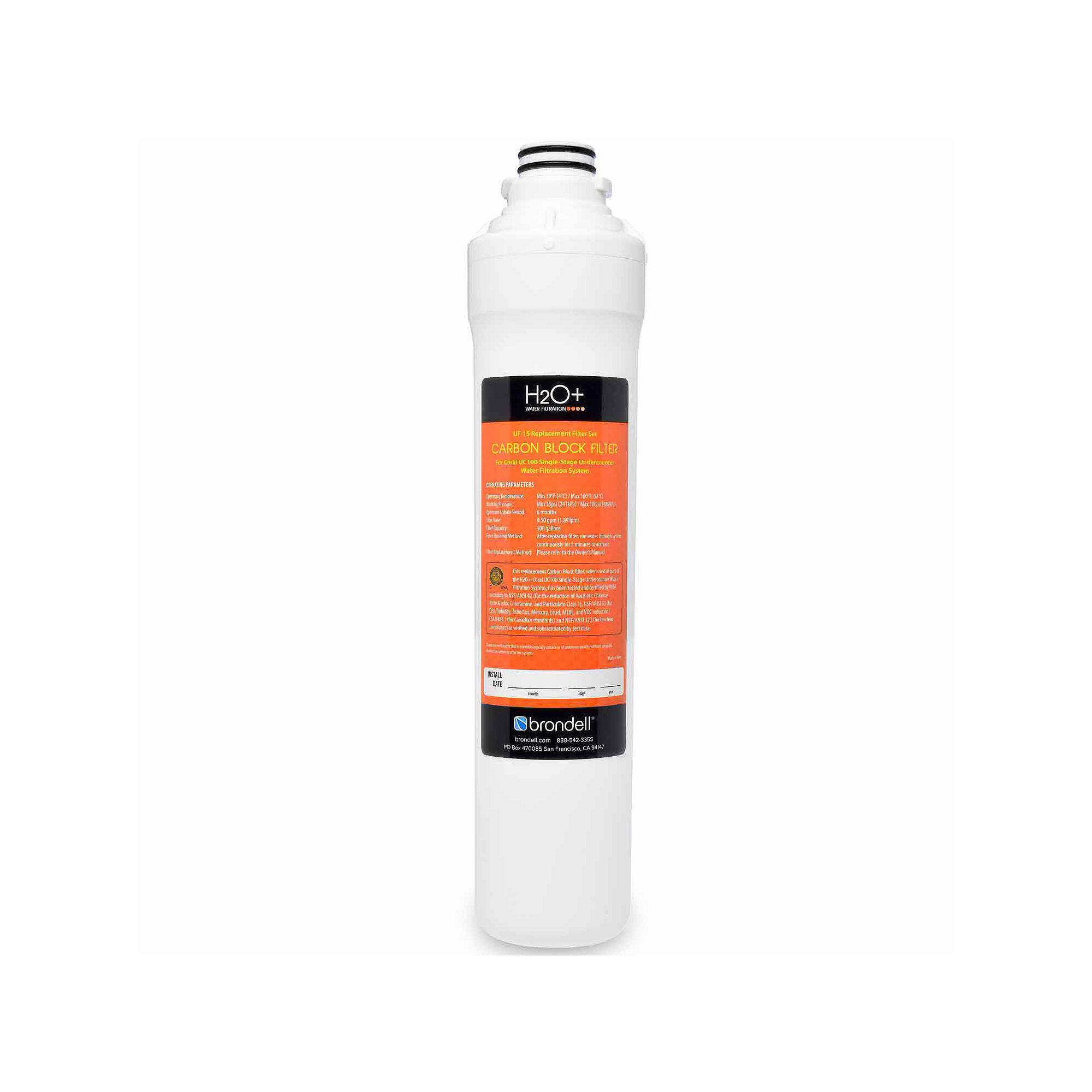 Brondell Water Filters-Uf-15