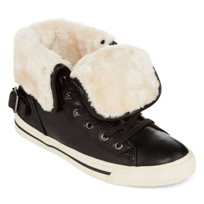 Arizona Criss Faux Fur Lace-Up Sneakers