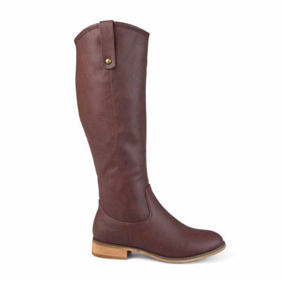 Journee Collection Womens Taven Extra Wide Calf Riding Boots