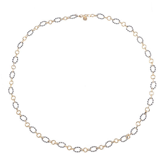 Monet Jewelry 34 Inch Cable Round Chain Necklace