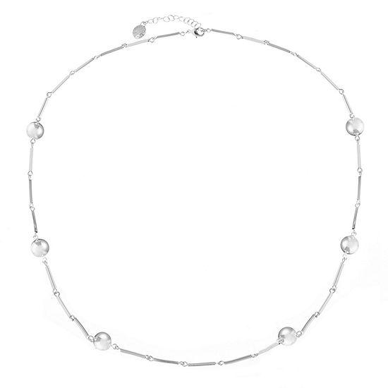 Liz Claiborne 28 Inch Link Strand Necklace