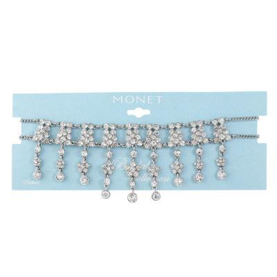 Monet Jewelry Womens Choker Necklace