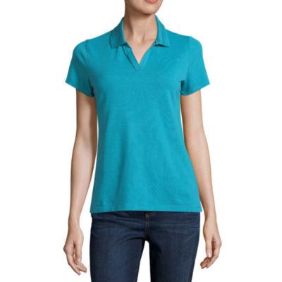 St. John's Bay Short Sleeve Knit Polo Shirt - Talls