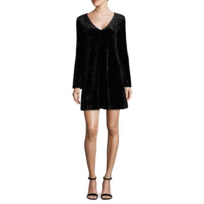 a.n.a 3/4 Sleeve A-Line Dress-Tall