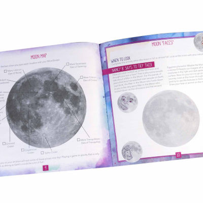 Educational Insights Nancy B's Science Club® MoonScope™ & Sky Gazer's Activity Journal