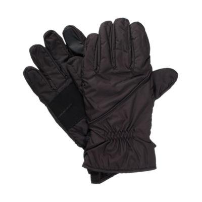 Isotoner Nylon Sleek Heat Glove with SmartDRI and Smartouch Technology