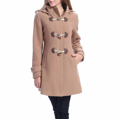 BGSD Women's Daisy Plush Wool Blend Coat - Plus